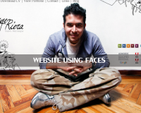 クライアントに自分を売り込む「自分の顔を使ったポートフォリオのサイト」