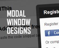 ログインフォームなどで使う、かっこいいモーダルウィンドウのデザインまとめ