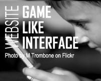 デザインインスピレーション:ゲーム性をインターフェースに取り入れたサイト
