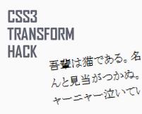 """""""MS Pゴシック"""" をメイリオみたいにアンチエイリアスさせるCSS3ハック"""